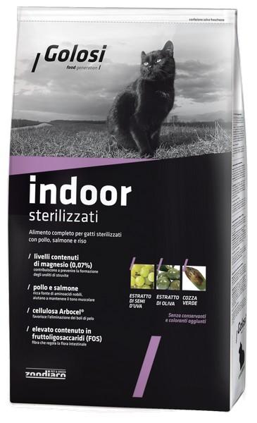 Golosi Indoor Sterilizzati / Сухой корм Голоси для Стерилизованных домашних кошек