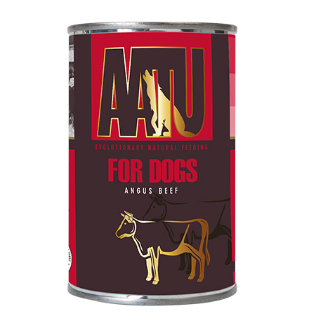 AATU for Dogs Angus Beef / Консервы Аату для взрослых собак Говядина Ангус (цена за упаковку)