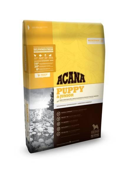 Acana Heritage 70/30 Puppy & Junior / Сухой корм Акана для Щенков и Юниоров всех пород