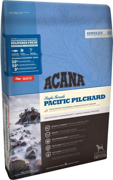 Acana Singles Pacific Pilchard No Grain / Сухой корм Акана для собак Беззерновой Гипоаллергенный Тихоокеанская сардина