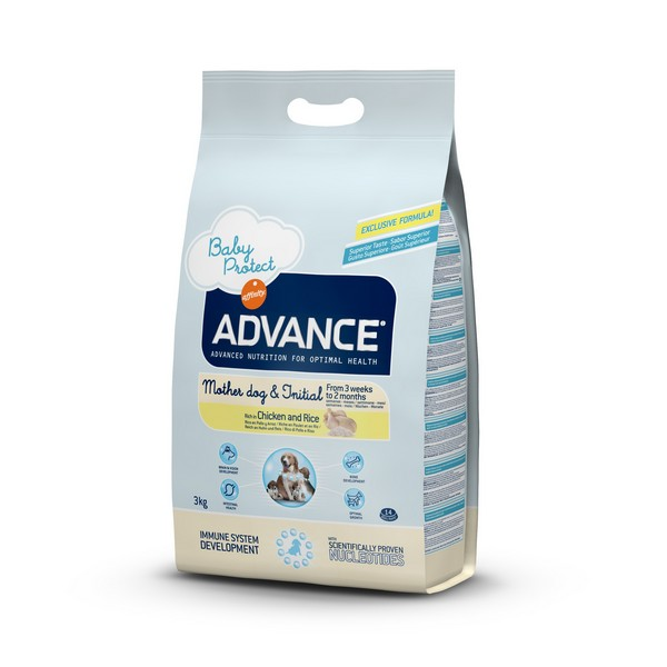 Advance Baby Protect Mother dog & Initial / Сухой корм Адванс для Щенков от 3 недель до 2 месяцев Курица рис