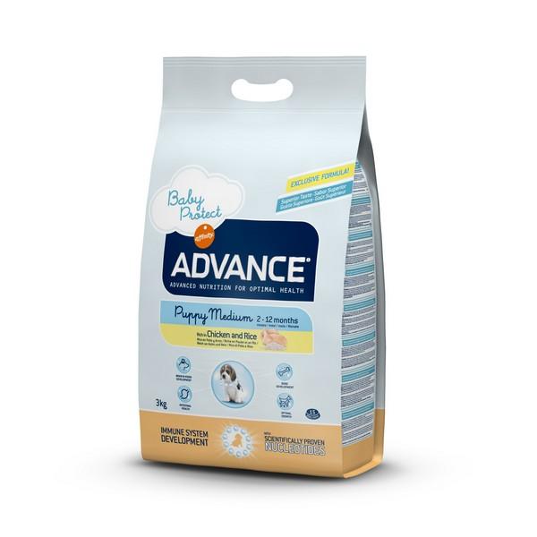 Advance Baby Protect Puppy Medium / Сухой корм Адванс для Щенков Средних пород от 2 до 12 месяцев Курица рис