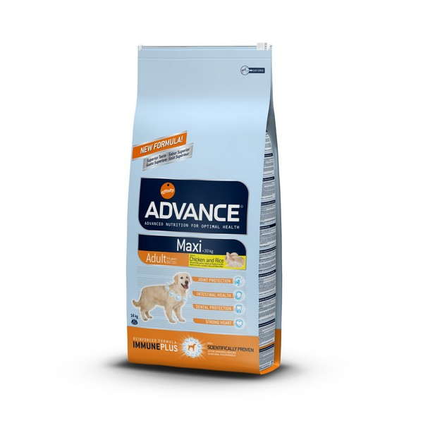 Advance Maxi Adult / Сухой корм Адванс для собак Крупных пород Курица рис