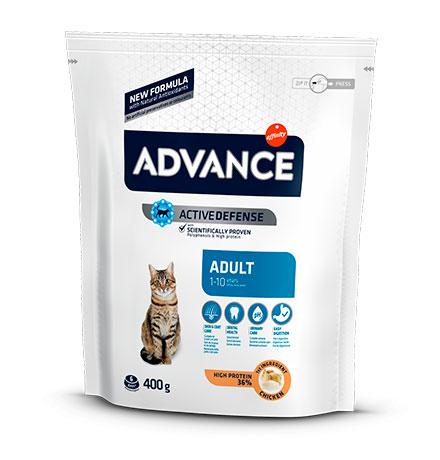 Advance Adult Chicken and Rice / Сухой корм Адванс для взрослых кошек Курица рис