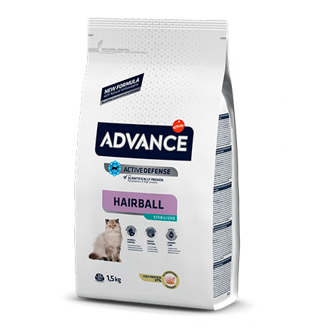 Advance Sterilized Hairball Turkey and Barley / Сухой корм Адванс для Вывода шерсти у Стерилизованных кошек Индейка ячмень