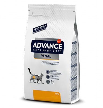 Advance Veterinary Diets Renal / Ветеринарный сухой корм Адванс для кошек при Почечной недостаточности