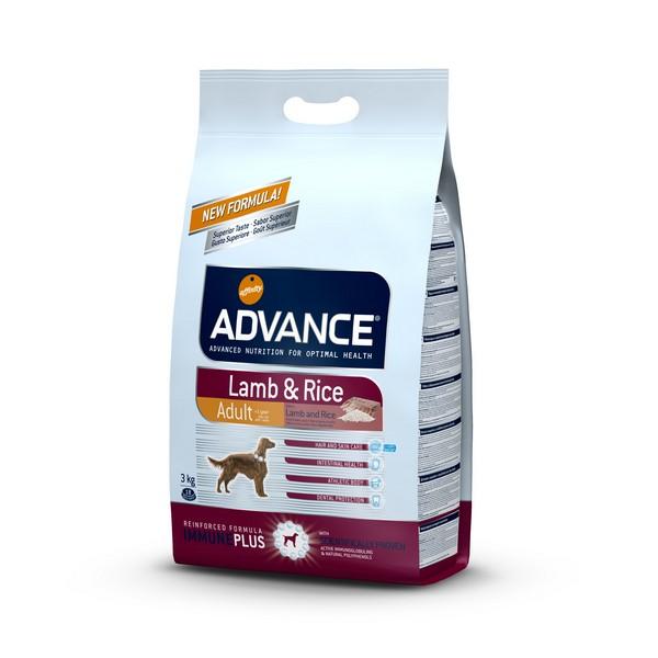 Advance Adult Lamb & Rice / Сухой корм Адванс для взрослых собак Ягненок рис