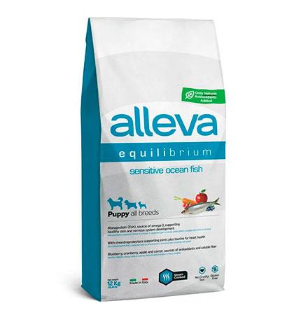 Alleva Puppy Equilibrium All Breeds Sensitive Lamb / Сухой корм Аллева для Щенков Всех пород Ягненок