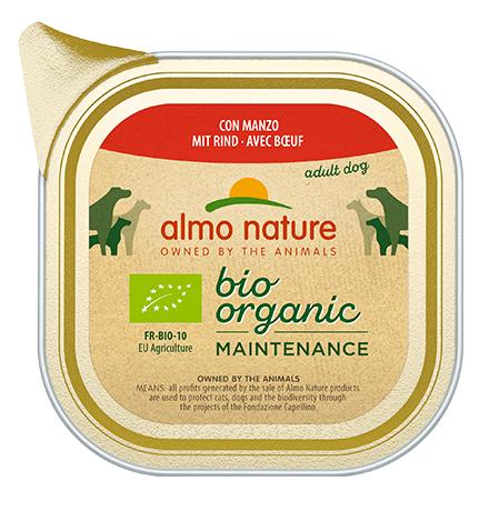 Almo Nature Daily Menu Bio Pate Beef / Паштет Алмо Натюр для собак Био-меню с Говядиной (цена за упаковку)