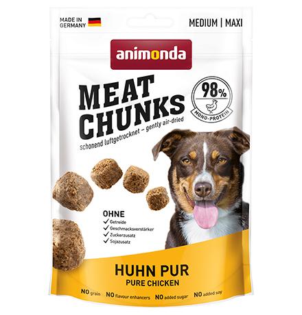 Animonda Meat Chunks Pure Medium Maxi Chicken / Лакомство Анимонда для взрослых собак Средних и Крупных пород с Курицей