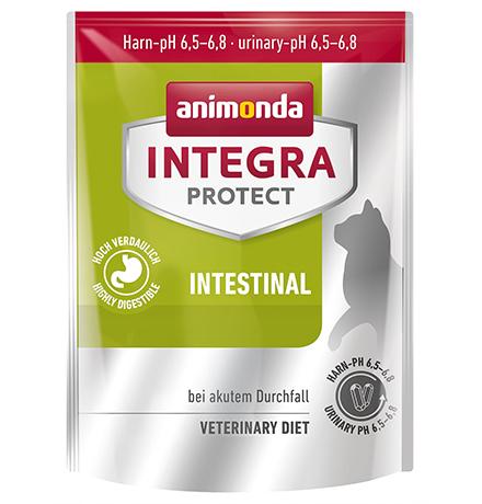 Animonda Integra Protect Intestinal / Ветеринарный сухой корм Анимонда для взрослых кошек при Нарушениях Пищеварения