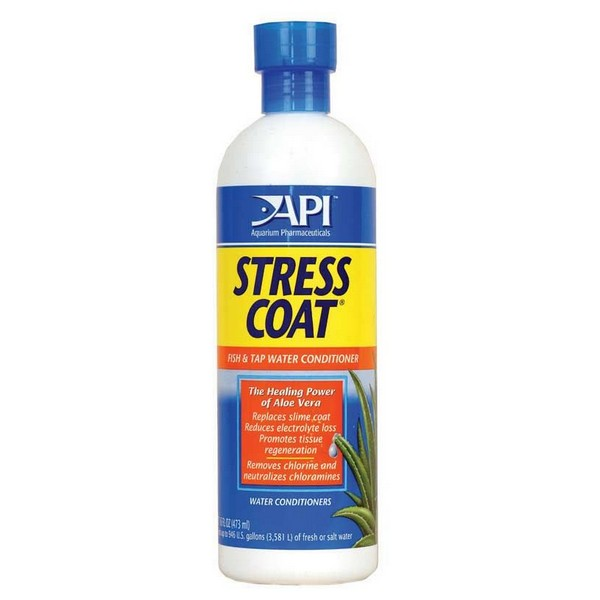 Api Stress Coat / Кондиционер Апи для декоративных рыб и воды