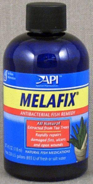 Api Melafix / Средство Апи от бактериальных и грибковых инфекций для Аквариумных рыб