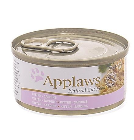 Applaws Kitten Sardine / Консервы Эплоус для Котят Сардинки (цена за упаковку)
