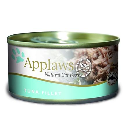 Applaws Tuna Fillet / Консервы Эплоус для кошек филе Тунца (цена за упаковку)