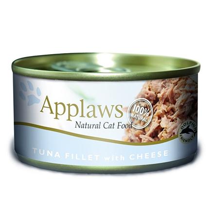 Applaws Tuna Fillet Cheese / Консервы Эплоус для кошек филе Тунца Сыр (цена за упаковку)