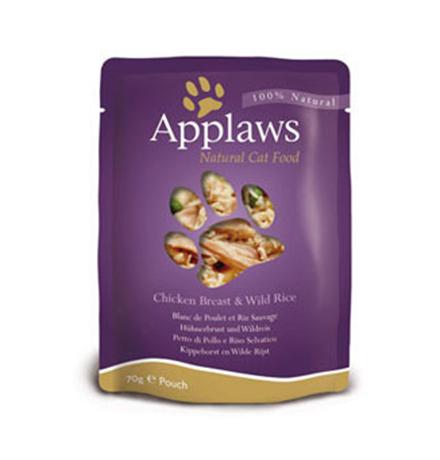 Applaws Chicken / Паучи Эплоус для кошек Курица (цена за упаковку)