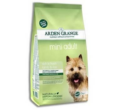 Arden Grange Adult Mini Lamb & Rice / Сухой корм Ардэн Грэндж для собак Мелких пород Ягненок и Рис
