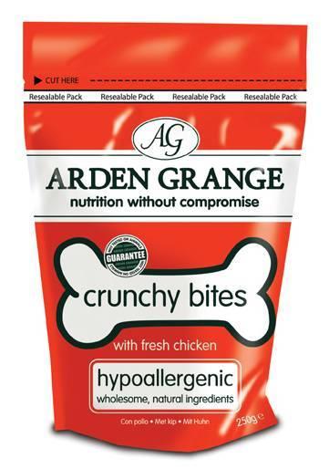 Arden Grange Crunchy Bites Chicken / Лакомство Ардэн Грэндж для собак с Курицей