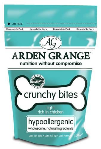 Arden Grange Crunchy Bites Light Chicken / Лакомство Ардэн Грэндж для собак Низкокалорийное с Курицей