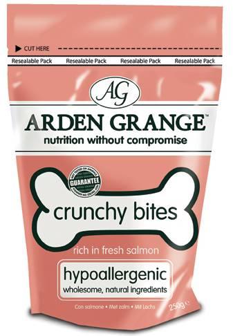 Arden Grange Crunchy Bites Salmon / Лакомство Ардэн Грэндж для собак с Лососем