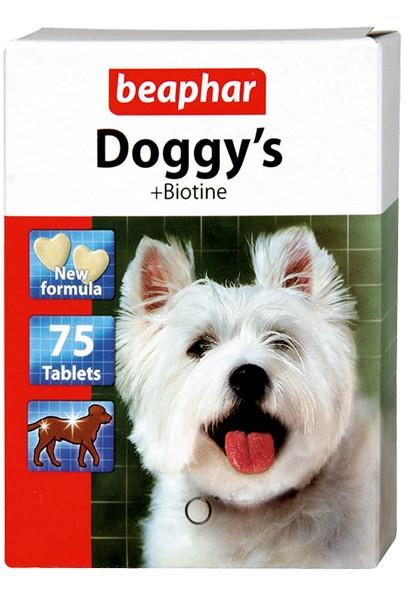 Beaphar Doggy's+Biotin / Кормовая добавка Беафар для собак с Биотином (