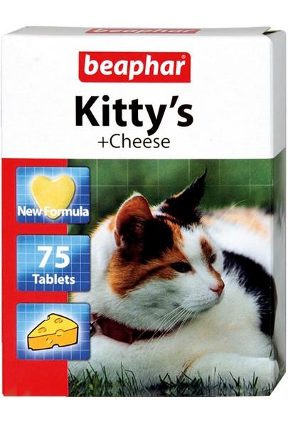 Beaphar Kitty's+Cheese / Кормовая добавка Беафар для кошек Витаминизированное лакомство с Cыром (