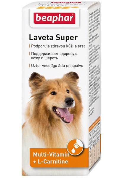 Beaphar Laveta Super / Витамины Беафар для собак для Кожи и Шерсти