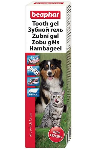 Beaphar Tooth Gel / Зубной гель Беафар для чистки Зубов и освежения Дыхания у собак
