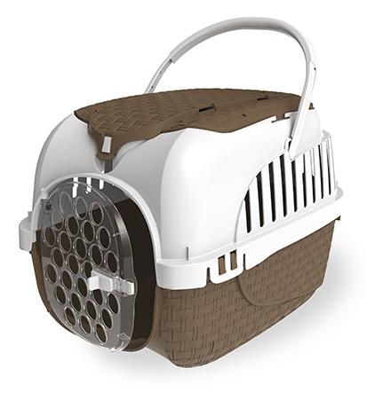 Bama Pet Kennel Tour / Переноска Бама Пет для животных весом до 7 кг Коричневая