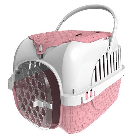 Bama Pet Kennel Tour / Переноска Бама Пет для животных весом до 7 кг Розовая