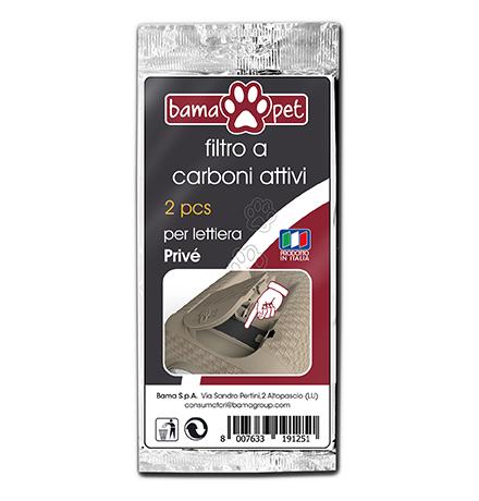 Bama Pet Prive / Угольный фильтр Бама Пет для туалета