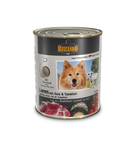 Belcando Lamm / Консервы Белькандо для собак Ягненок с рисом и помидорами (цена за упаковку)