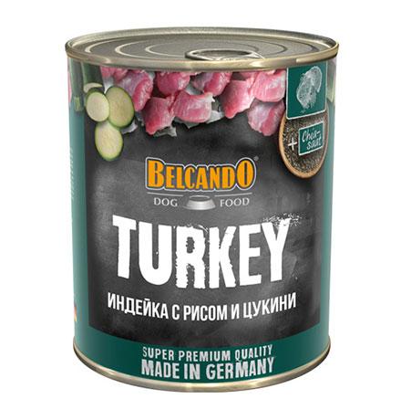 Belcando Turkey with rice&courgettes / Консервы Белькандо для собак с Индейкой (цена за упаковку)