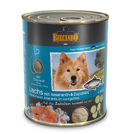 Belcando Salmon with Amaranth&Courgettes / Консервы Белькандо для собак с Лососем амарантом и цукини (цена за упаковку)