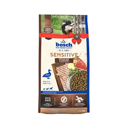 Bosch Sensitive Ente & Kartoffel / Сухой корм Бош Сенситив для собак с Чувствительным пищеварением Утка с картофелем