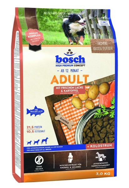 Bosch Adult Lachs & Kartoffel / Сухой корм Бош Эдалт для собак Лосось с Картофелем