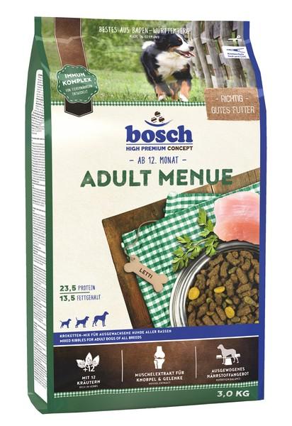 Bosch Adult Menue / Сухой корм Бош Эдалт Меню Овощи & Мясо