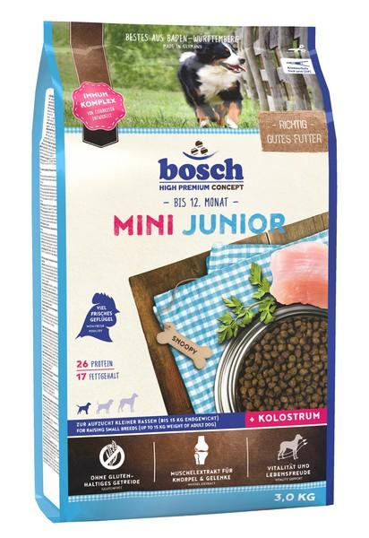 Bosch Junior Mini / Сухой корм Бош Юниор Мини для Щенков Мелких пород