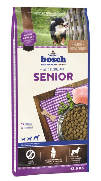 Bosch Senior / Сухой корм Бош Сеньор для Пожилых собак