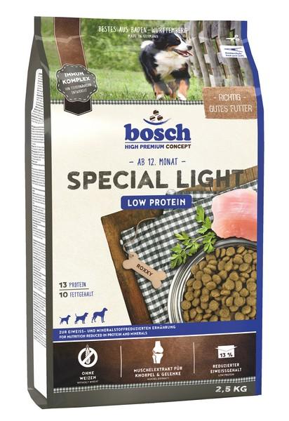 Bosch Special Light / Сухой корм Бош Спешел Лайт для собак Низкопротеиновый