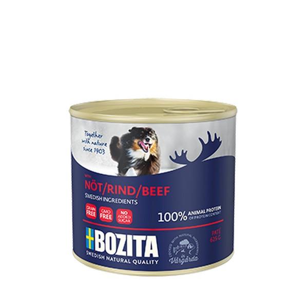 Bozita Beef / Консервы Бозита для собак Мясной паштет Говядина (цена за упаковку)