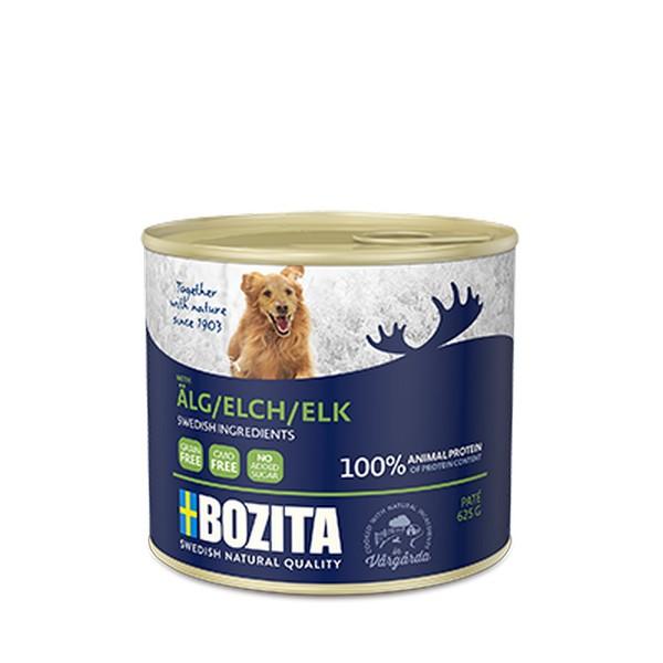 Bozita Elk / Консервы Бозита для собак Мясной паштет Лось (цена за упаковку)