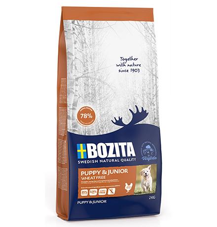 Bozita Puppy & Junior Wheat free / Сухой корм Бозита для Щенков, юниоров, беременных и кормящих собак Без пшеницы