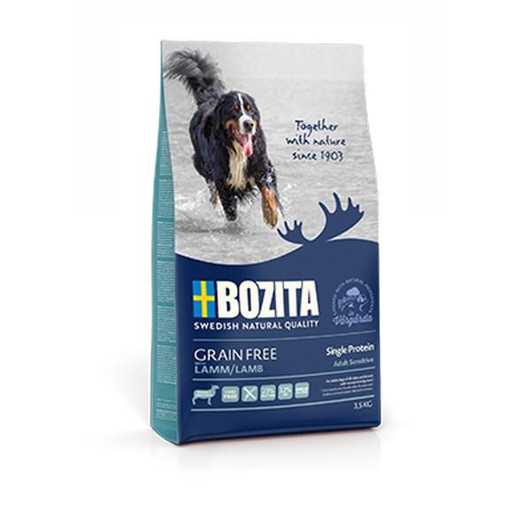 Bozita Grain free Lamb / Сухой Беззерновой корм Бозита для взрослых собак с нормальным уровнем активности Ягненок