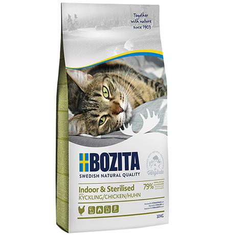 Bozita Feline Funktion Indoor & Sterilised / Сухой корм Бозита для Стерилизованных и домашних кошек Курица