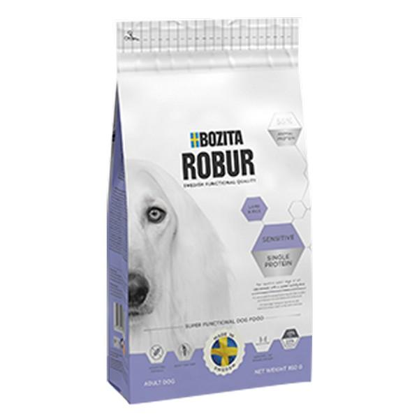 Bozita Robur Sensitive Single Protein Lamb & Rice / Сухой корм Бозита для собак с Чувствительным пищеварением Ягненок рис