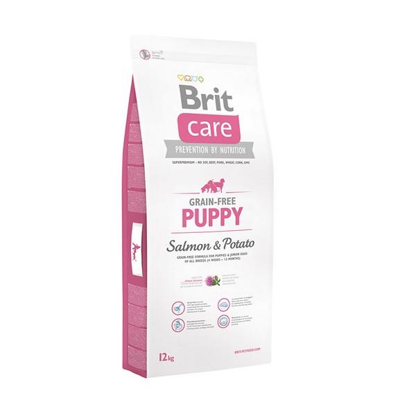 Brit Puppy Care Salmon & Potato / Сухой корм Брит Беззерновой для Щенков Лосось Картофель
