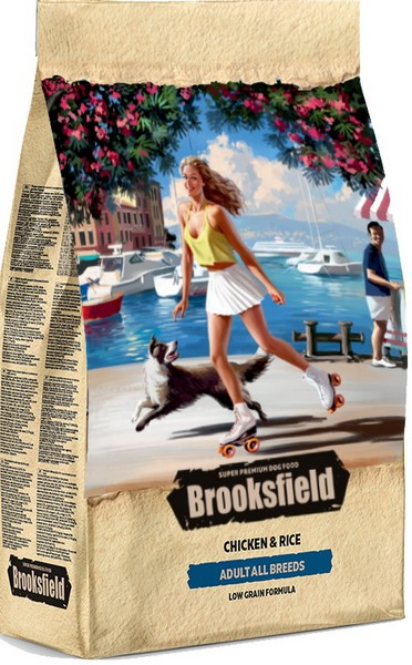 Brooksfield Adult Dog All Breeds Chicken / Сухой корм Бруксфилд для взрослых собак всех пород Курица рис
