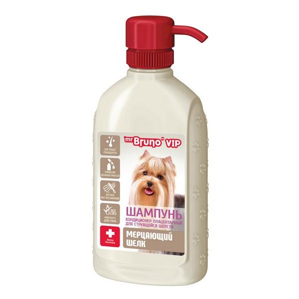 mr Bruno VIP / Шампунь-кондиционер Мистер Бруно для собак Мерцающий шелк